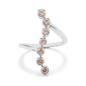 1.16ct Ceylon Zircon Sterling Silver Ring