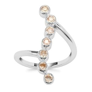 Ceylon Zircon Ring in Sterling Silver 1.16cts