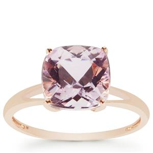 Kunzite Ring in 9K Rose Gold 3.68cts