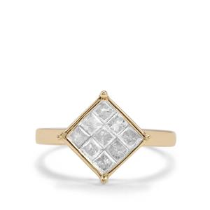 3/4ct Diamond 10K Gold Tomas Rae Ring