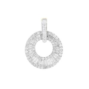 1.07ct Diamond 9K Gold Tomas Rae Pendant