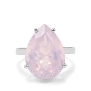 Lavender Quartz Ring in Sterling Silver 10.46cts