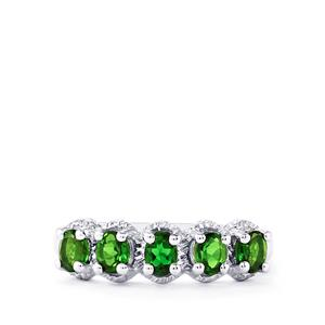 Chrome Diopside Ring in Sterling Silver 0.85cts
