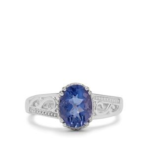 2.10ct Colour Change Fluorite Sterling Silver Ring