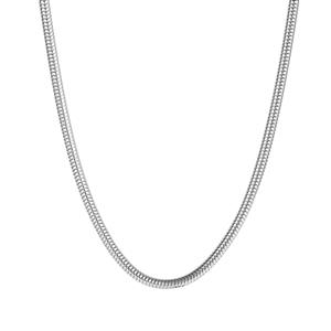 "16.50"" - 18.50"" Sterling Silver Kama Charm Necklace"