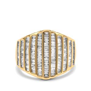 1ct Diamond 18K Gold Ring