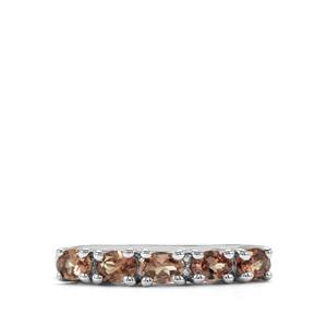 1.05ct Tsivory Colour Change Garnet Sterling Silver Ring