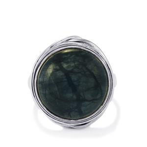 16ct Picasso Jasper Sterling Silver Aryonna Ring