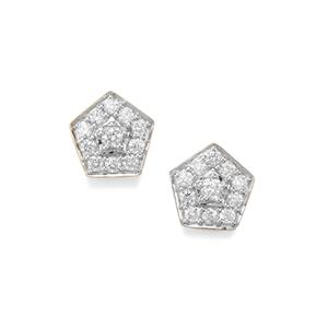Argyle Diamond Earrings in 10K Gold 0.54ct
