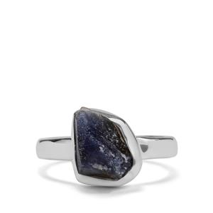 Ceylon Sapphire Ring in Sterling Silver 4.66cts