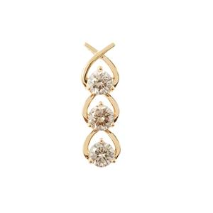 Argyle Diamond Pendant in 18K Gold 0.79ct