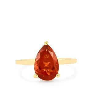 Oregon Sunstone Ring in 18k Gold 2.45cts