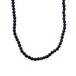 Lapis Lazuli Slider Necklace in Sterling Silver 135cts