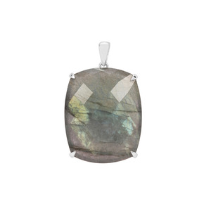 Labradorite Pendant in Sterling Silver 38.05cts