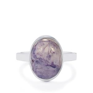 Tiffany Opal Ring in Sterling Silver 5.25cts