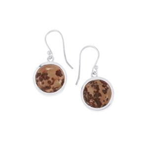 14.45ct Sonora Dendrite Sterling Silver Earrings