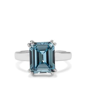 Versailles Topaz Ring in Sterling Silver 5.30cts