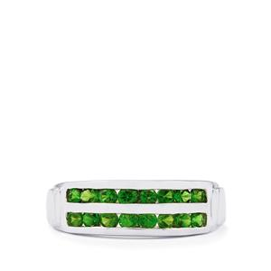 Chrome Diopside Ring in Sterling Silver 0.91ct