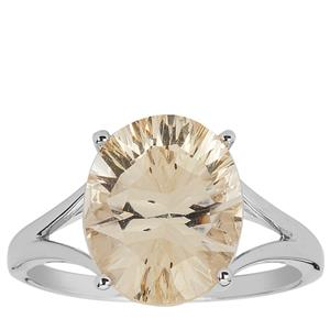 Mexican Sunstone Ring in Sterling Silver 4.04cts