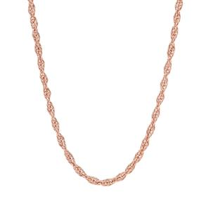 "18"" Rose Midas Couture Cordino Chain 2.35g"