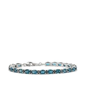 12.91ct Marambaia London Blue Topaz Sterling Silver Bracelet
