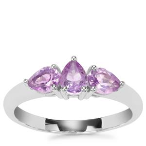 Moroccan Amethyst Ring in Sterling Silver 0.89ct