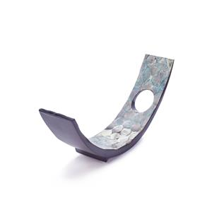 Santorini Mother of Pearl Wine Bottle Rest