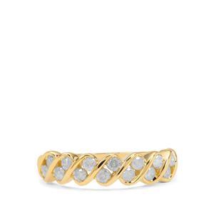 Diamond Ring in 9K Gold 0.50ct