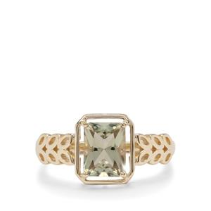 Csarite® Ring in 9K Gold 1.70cts