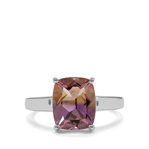 3.45ct Anahi Ametrine Sterling Silver Ring