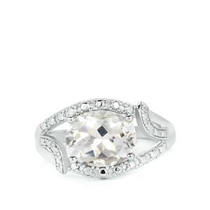 3.10ct Cullinan Topaz Sterling Silver Ring