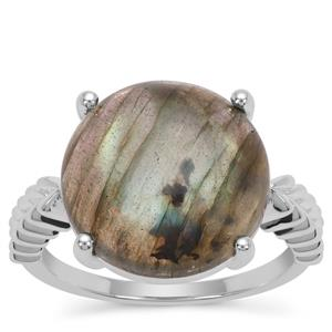 Labradorite Ring in Sterling Silver 9.80cts
