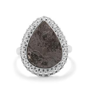 Shungite Ring in Sterling Silver 6.50cts