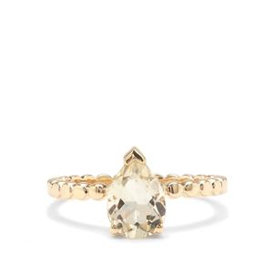 Serenite Ring in 9K Gold 1.25cts