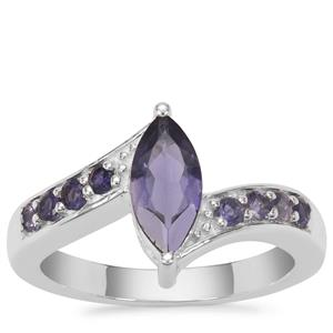 Bengal Iolite Ring in Sterling Silver 1.05cts