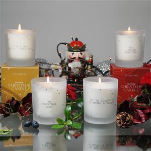 Christmas Contemporary Candles
