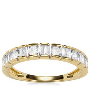 Diamond Diamantaire Ring in 9k Gold 0.51ct
