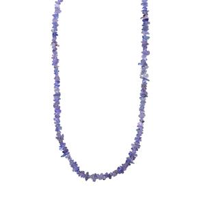 Tanzanite Nugget Bead Necklace 320cts