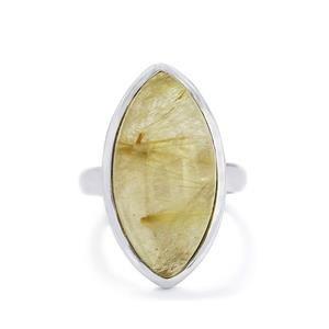 14.20ct Rutilite Sterling Silver Aryonna Ring