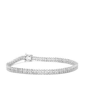 2.50ct Diamond 9K White Gold Tomas Rae Bracelet