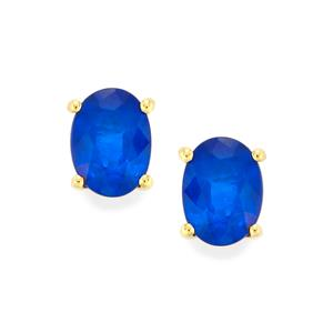 1.73ct Santorinite™ Blue Spinel 10K Gold Earrings