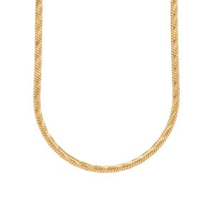"20"" Midas Tempo Diamond Cut Snake Chain 4.64g"