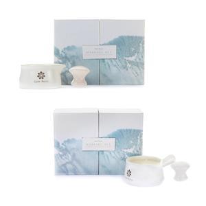 Gem Auras Massage Candle with Gemstone Massage Tool ATGW 350cts