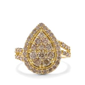 1.52ct Argyle Diamond 9K Gold Tomas Rae Ring