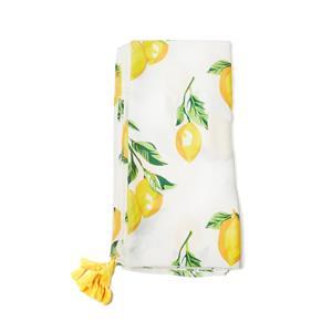Destello Lemon Print Scarf