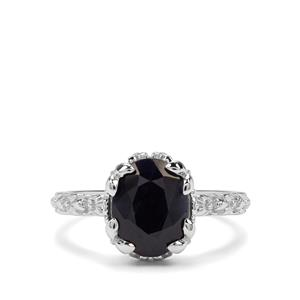 3.89ct Orissa Sapphire Sterling Silver Ring