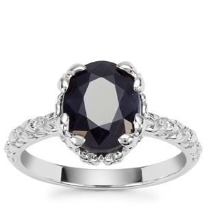 Orissa Sapphire Ring in Sterling Silver 3.89cts