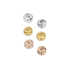 Set of 3 Earrings in Sterling Silver