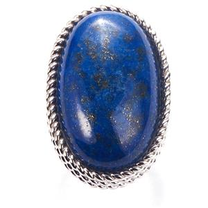 Lapis Lazuli Sarah Bennett Ring in Sterling Silver 35.65cts