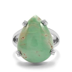 10.50ct Australian Variscite Sterling Silver Aryonna Ring